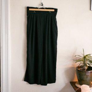 Xhilaration Paper Bag Wide Leg Carpi Pants